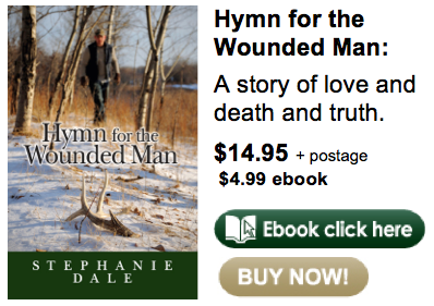 Hymn for the Wounded Man buy now ebook and hard copy