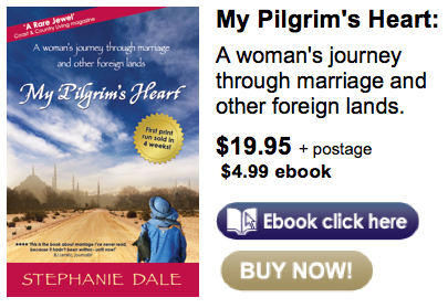 My Pilgrim's Heart buy now ebook and hard copy