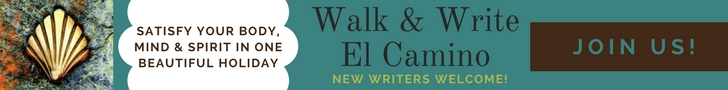 Walk & Write The Camino April 2018